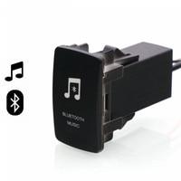 Bluetooth Car Kit Handsfree Car Adapter Aux Audio Receiver Module Panel For Mitsubishi Asx Lancer Outlander
