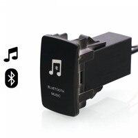 Bluetooth Car kit Handsfree Car Adapter Aux Audio Receiver Module Panel for Mitsubishi asx lancer outlander pajero Fortis