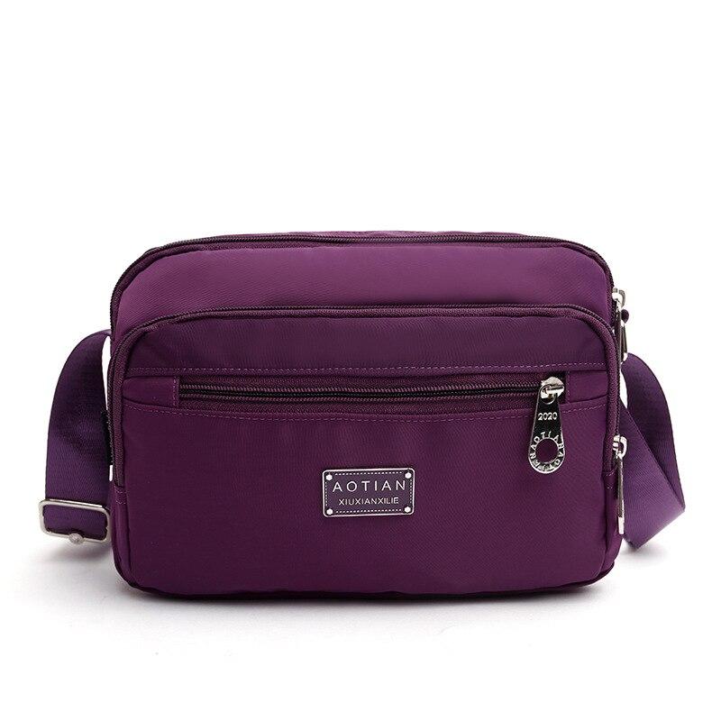 뜨거운 판매 패션 새로운 가방 여성 캐주얼 가방 lingge 수 놓은 가슴 주머니 다기능 어깨 메신저 가방-에서숄더 백부터 수화물 & 가방 의  그룹 1