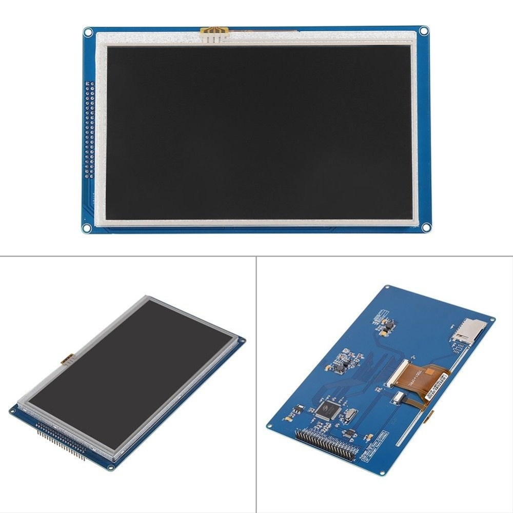 ShenzhenMaker 7 inch TFT LCD module Display 800x480 SSD1963 Touch PWM for Arduino AVR STM32 ARM arduino wav player 22 1khz voice play sound broadcast module compatible with rpi stm32