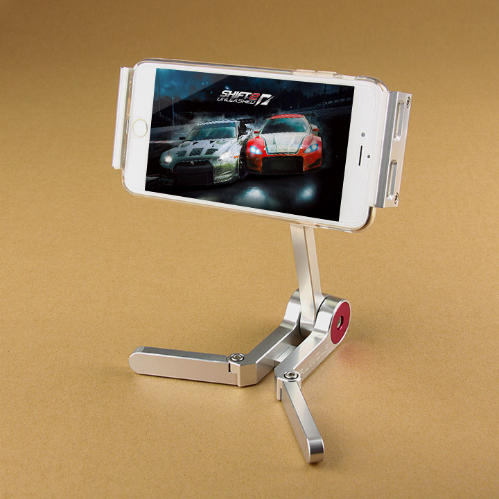 Tactical Accessory Aluminum iPhone Holder Universal Foldable Stand Holder Suitable for All Kinds of Tablet PC PP33-0097