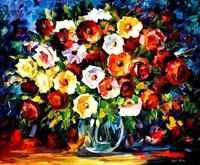 Obraz na sprzedaż kolorowe obrazy olejne na płótnie kwiaty miłości nowoczesna ściana ozdoby do dekoracji wnętrz wysokiej jakości ręcznie malowane