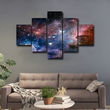Canvas Poster HD Prints Room Wall Art Framework 5 Pieces The Milky Way Paintings Home Decor Anime Abstract Pictures Abooly