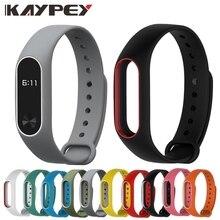 Цветной браслет mi Band 2, силиконовый ремешок, двойной цветной сменный ремешок для часов, ремешок для Xiaomi mi, 2 браслета