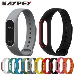 Bracelet Watchband Wrist-Strap 2-Wristbands-Belt Double-Color-Replacement Xiaomi Colorful