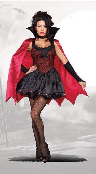 Nuove Donne Сексуальный Дьявол красный суккубов ведьмы вампир платье для взрослых женские Косплэй костюм женщины Плащ Хэллоуин Fantasia Infantil платье