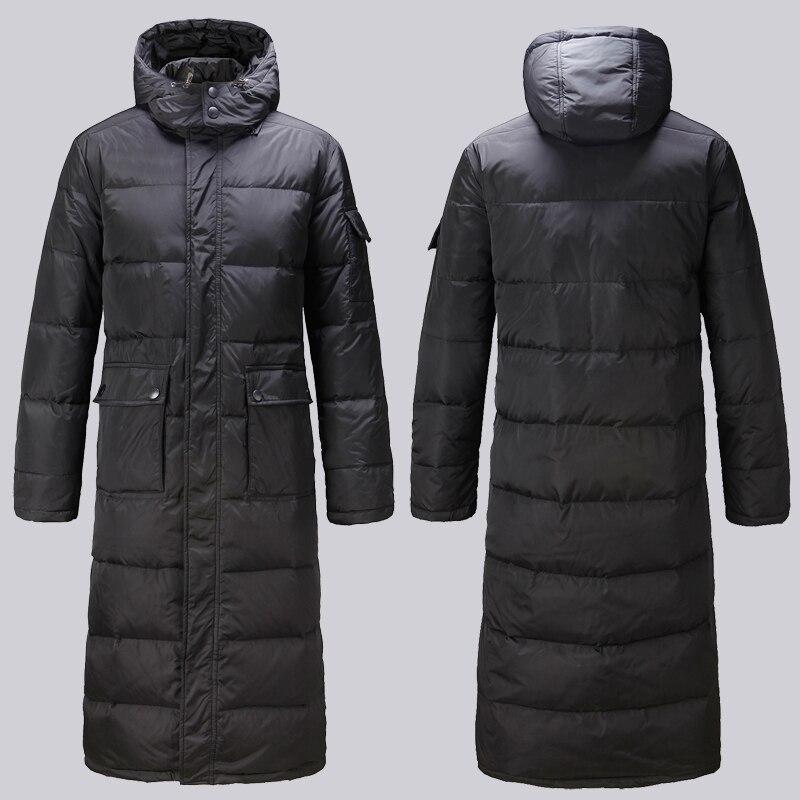 kaki Black Extra Hop 2 Veste Vêtements X longue Épais Conception Bas 1 Joggeurs Long Hommes Militaire Coupe D'hiver Hip Vers 3xl vent Le 2xl Manteau black 4Fq1wf