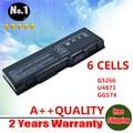 6 células bateria para dell Inspiron 6000 9200 9300 9400 E1705 M90 M6300 E1505n U4873 Y4873 YF976