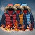 TG6209Cheap atacado 2016 nova Juventude lazer algodão-acolchoado roupas homens inverno com grossas de algodão-acolchoado jaqueta curta han edição
