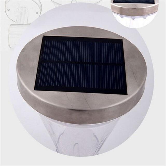 2pcs/lot  -13led solar light Durable stainless steel PIR Motion Sensor wall lamp led solar light outdoor garden Yard light