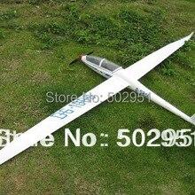 FLYFLY DG1000 комплект RC электрический и планер Версия Модель Планера, DG-1000, DG 1000 стекловолокно радиоуправляемая модель