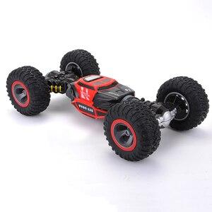 Image 5 - Cymye voiture radiocommandée 4WD Double face, 2.4GHz, une clé, Transformation, véhicule tout terrain, Varanid, camion descalade