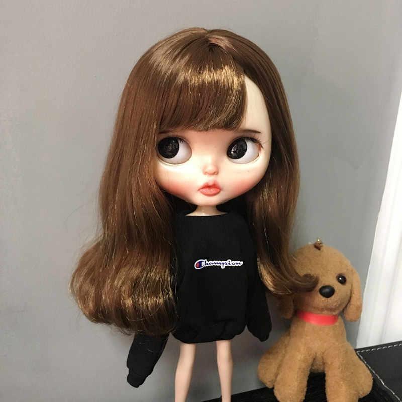 1/6 blyth Puppe Kleidung Casual T-shirt für azon barbi Shirts Blyth Mädchen Hosen Puppe Zubehör Geschenk Für licca