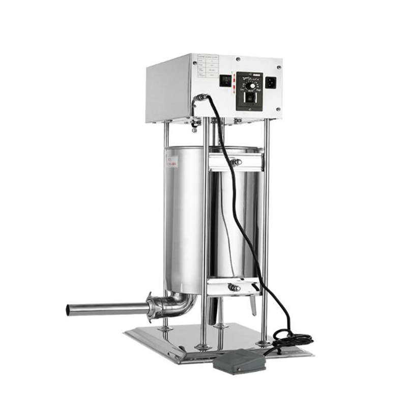 15L Commercial Stainless Steel Enema Machine Electric Meat Sausage Stuffer Machine Sausage Filling Kitchen Tools Maker