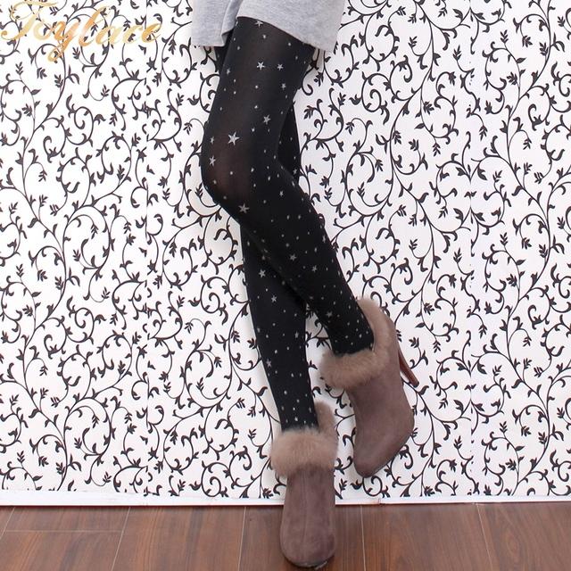 Toylace 6619 1 PC padrão de Estrela mulheres collants meia-calça
