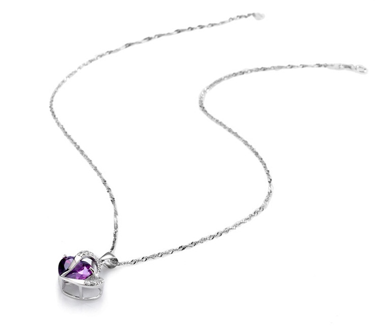 Ladies Heart Necklace - with chain