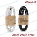 New Lot 20pcs Micro 5P USB Cable Date Cable For Alcatel OT991 OT993 OT995 OT996 Phone