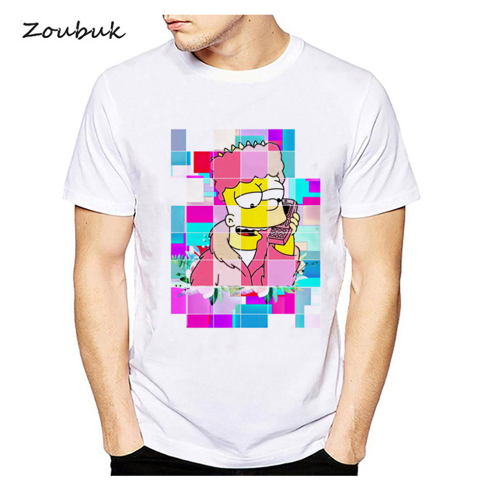 23571effc1cb Buy simpsons t shirt and get free shipping on AliExpress.com