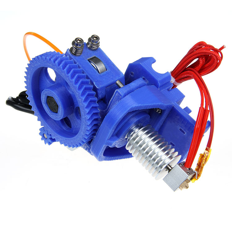 Reprap 3d printer kit metal J-Head extruder GT4 with Stepper Motor  0.3mm nozzle 3mm filament 3d printer accessory reprap j head mkiv mkv hotend nozzle wade bowden extruder for choice top quality free shipping