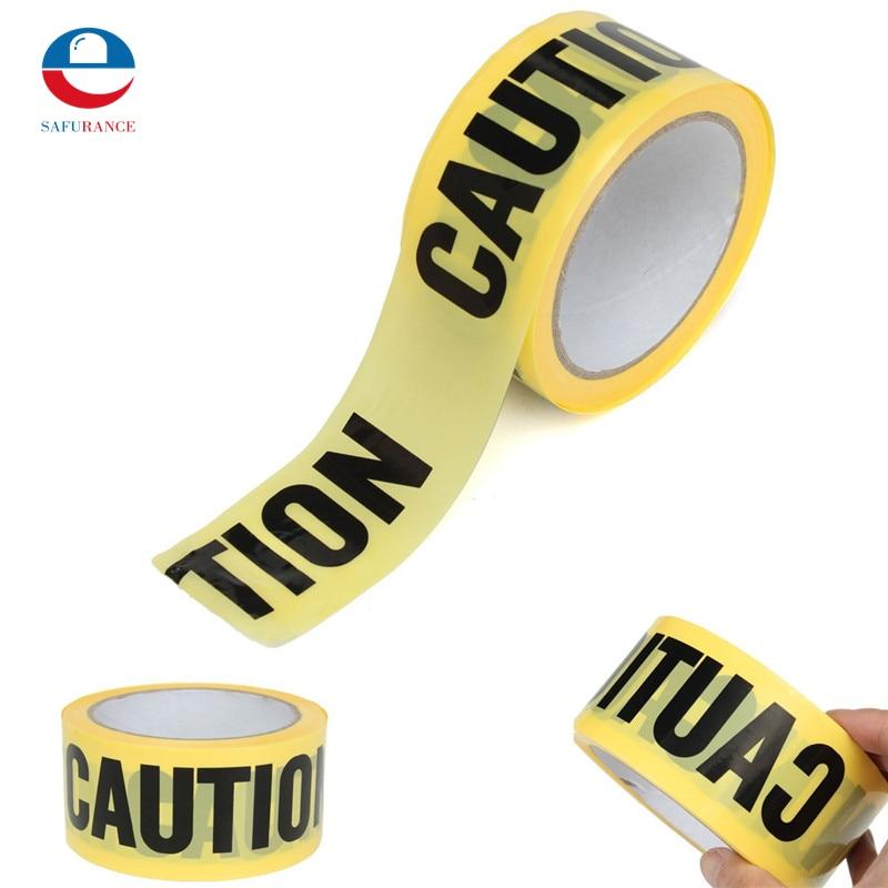 Aus Dem Ausland Importiert 50 Mt X 5 Cm Rolle Gelbe Vorsicht Band Für Sicherheitsbarriere Für Polizei Barrikade Für Unternehmer Neue Qualität Kunden Zuerst