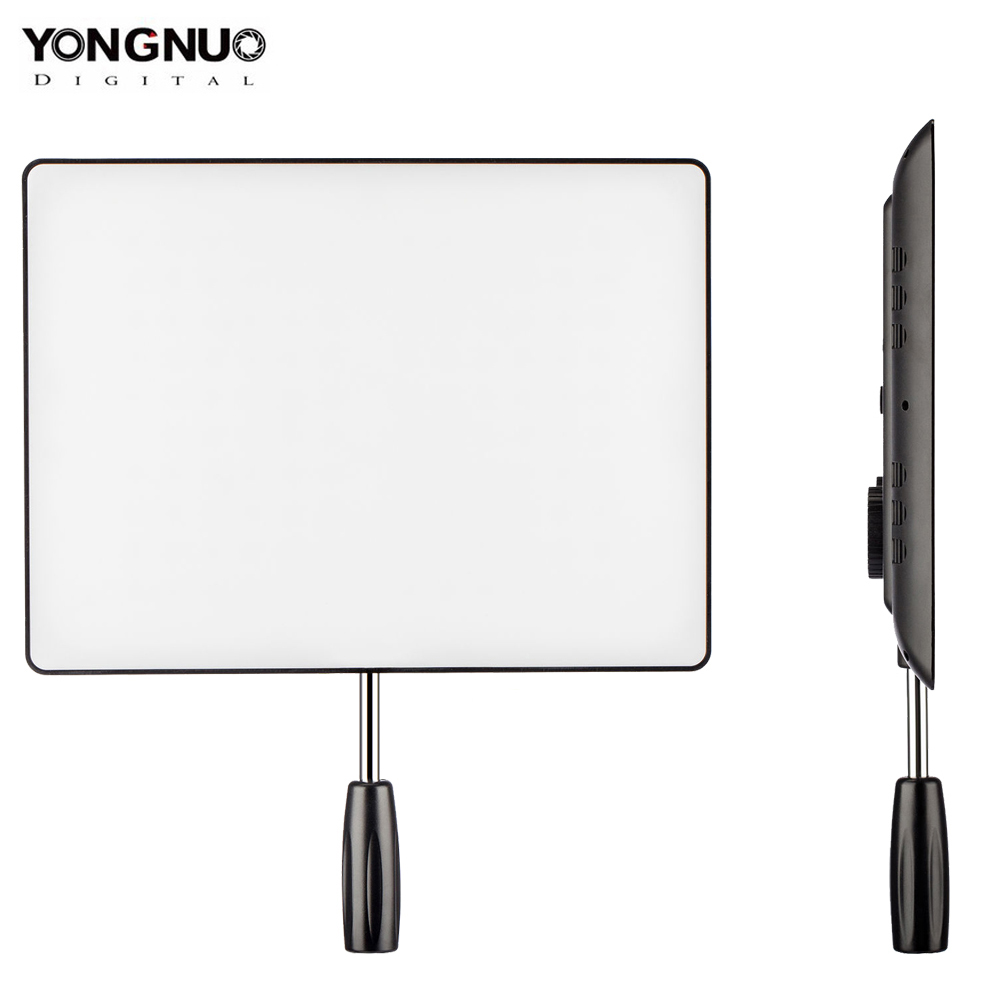 YONGNUO <font><b>YN600</b></font> <font><b>Air</b></font> Ultra Thin LED Camera Video Light 3200K-5500K for Canon Nikon Pentax Olympas Samsung DSLR & Camcorder image