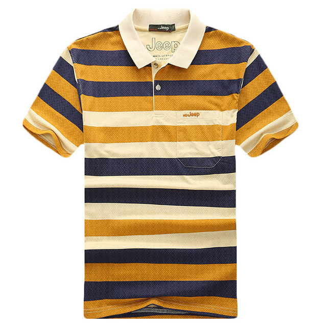 2017 Summer New Design Men Polo Shirts Famous Brand Short Sleeve Cotton Polo Shirts Striped Casual Polo Shirts Big Size L-4XL
