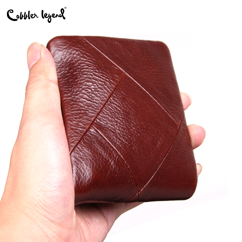 Cobbler Legend 100% Genuine Leather Men Wallet Men's Wallets