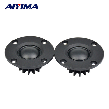 "AIYIMA 2Pcs Tweeter 1 ""polegadas 6Ohm 30W Dome Film Tweeter Hifi Treble Speaker Altifalante de áudio com dissipador de calor 1"