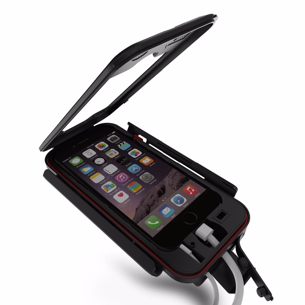 hot sale online a1739 16c68 US $20.9 |Waterproof Shockproof Bike Bicycle Motorcycle Handlebar Mount  Holder Phone cases for iphone 6 6s 5 5s se 6 6s plus 7 7plus -in Fitted  Cases ...
