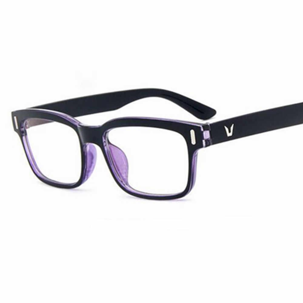 15b71736537 Eyeglasses Men Brand Frames Women Half Rim Clear Lens Eye Glasses Frames  For Women Female Spectacle