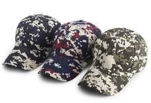 ef6f2bb9c79 30pcs Cheap Digital Camo Cotton Baseball Cap for Men Spring Autumn Women  Black Camouflage Strap Back Base Ball Hats Wholesale