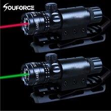 Красный/зеленый лазерный прицел дистанционный переключатель костюм мм 25,4/30 мм кольцо 20 мм Rail QD Крепление + W/дистанционный переключатель для охоты