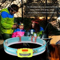 BeBe Cartoon IPX6 Waterproof Outdoor Camping Headlamp Light For Kids With 2 Lighting Modes Adjustable Headband