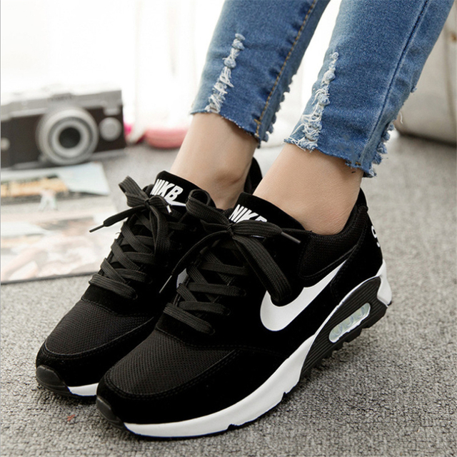 Women's casual shoes 2016 summer new fashion simple student breathable heavy-bottomed shoes casual shoes women