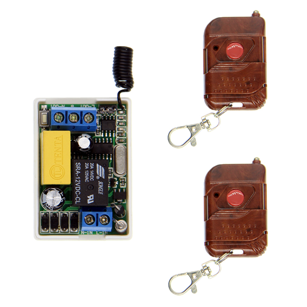 Mini Size AC 220V 10A Relay 1 CH 1CH RF Wireless Remote Control Switch System,315/433.92,Peach Transmitter + Receiver,Toggle ac 220v 10a 1ch relay wireless remote control switch system long range transmitter mini size receiver 315mhz 433mhz