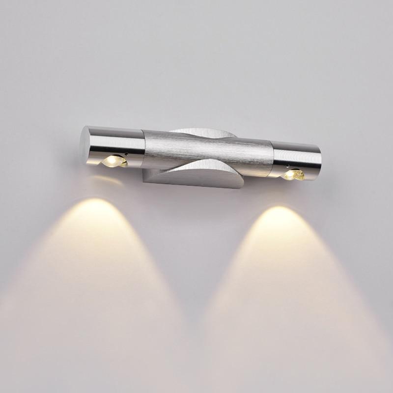 Ննջասենյակի LED պատի լամպ 2W - Ներքին լուսավորություն - Լուսանկար 2