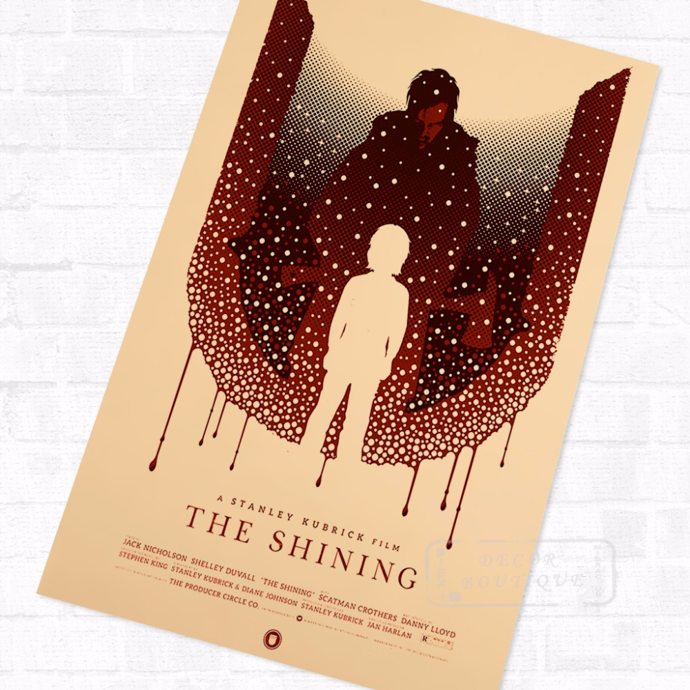 Online Shop Horror Movie Series the Shining Minimalist Vintage ...