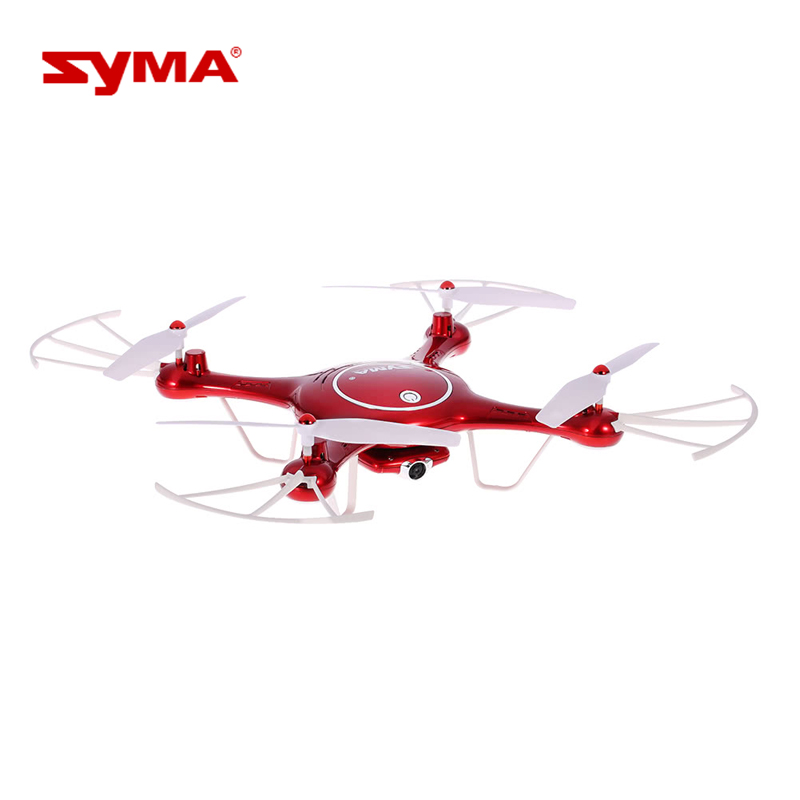 Syma X5UW Wifi FPV Drone with 720P HD Camera 2.4Ghz RC Quadcopter with Flight Route Setting and Altitude Hold Function RC Toys drone with camera rc plane qav 250 carbon frame f3 flight controller emax rs2205 2300kv motor fiber mini quadcopter