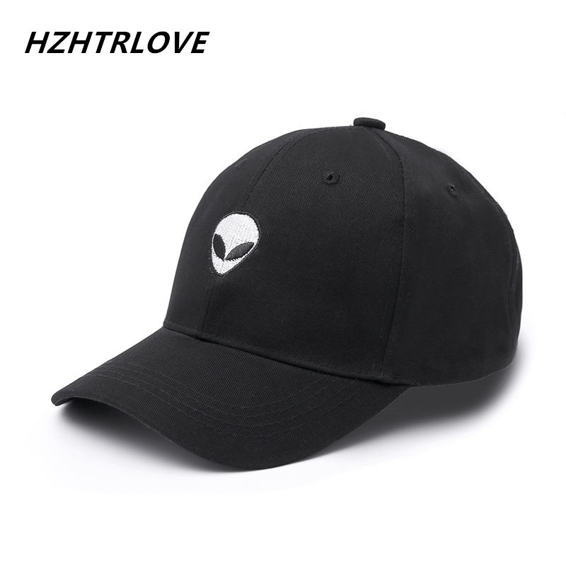 New Fashion Aliens Snapback Cap Outstar Saucer Space E.T UFO Fans Black Fabric Baseball Cap Hip Hop Hat Dad Hat for Men Women 2016 new brand gorras aliens outstar e t ufo fans black pink suede snapback baseball cap for men women hip hop hat casquette