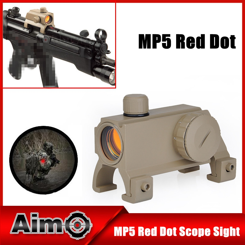 AIM-O MP5 Red Dot Scope Sight Rifle Scope 1x20 Weapon Sight Fit HK MP5 G3 AO3016 бордюр atlas concorde admiration crema marfil spigolo 1x20
