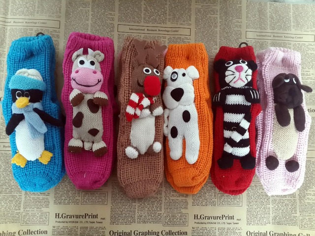New Arrival Christmas Gifts Knitted Christmas Socks Slip resistant ...