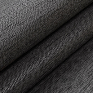 Image 3 - Grasscloth Effect Plain Textured Room Wallpaper Roll Modern Simple Wall Paper For Bedroom Living Room Home Decor,Dark Grey