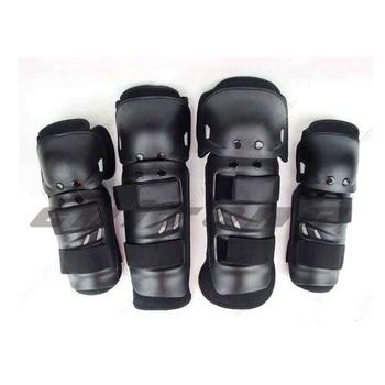 Protector de la rodilla moto rcycle rodilleras joelheiras de moto Cruz moto protección protecciones moto Cruz rodilla 2 sets/4 piezas