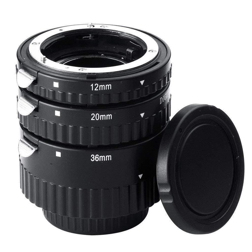 Ensemble de Tube d'extension Macro à mise au point automatique DSstyles Extnp pour appareils photo reflex numériques Nikon AF AF-S DX FX
