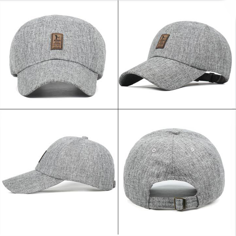 c8251841b7f PRETTY KITTY High quality material Linen Baseball caps for man snapback  casual snapback gorras touca hat-in Baseball Caps from Apparel Accessories  on ...