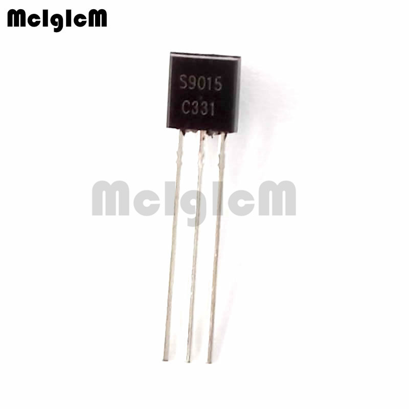 MCIGICM 5000pcs S9015 in line triode transistor TO 92 0 15A 50V PNP