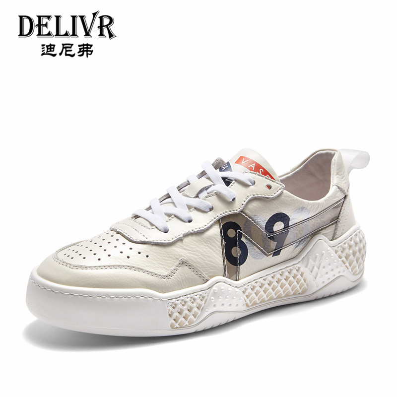 Delivr Casual Mens Shoes Genuine Leather Fashion ins Outdoor Shoes Men Sneakers 2019 Spring White Mens Summer Shoes SneakerDelivr Casual Mens Shoes Genuine Leather Fashion ins Outdoor Shoes Men Sneakers 2019 Spring White Mens Summer Shoes Sneaker