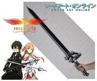 (Now In stock) Sword Art Online Kirito Kazuto Kirigaya Black Sword Cosplay Prop New Style D0003