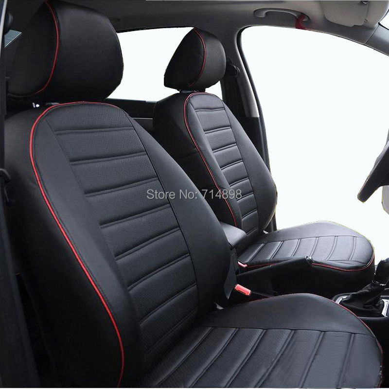 Carnong Car Seat Cover Pu Leather Proper Fit For Audi A4 B6 Full Set Same Structure And Design Four Season Auto In Automobiles Covers From