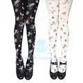 Princess sweet lolita pantyhose The constellation Printing pantyhose LKW09
